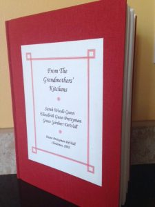 Book of grandmothers' recipes a most treasured gift